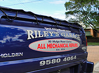 photo of car at Rileys Garage car repair Oatley Sydney
