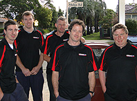 photo of team of mechanics at Rileys Garage car repairs and car service Oatley Sydney
